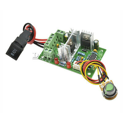 6-30V DC Motor Speed Controller Reversible PWM Control Forward Reverse Switch AU