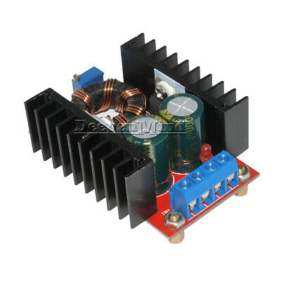 150W DC-DC Boost Converter 10-32V To 12-35V 6A Step Up Charger Power Module