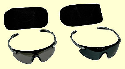 SPORTSPEX B2 Sunglasses Cricket Tinted & Smoke Lenses UV400 Protection Size XL