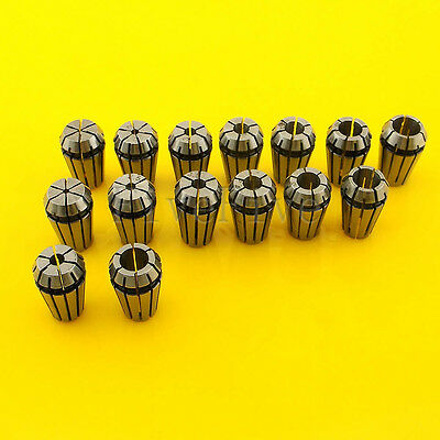 Precision ER11 Spring Collet Tool Bit Holder CNC Milling Lathe Chuck Choose Hole