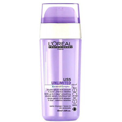 DOUBLE SERUM LISS UNLIMITED 30ml L'OREAL PROFESSIONNEL **