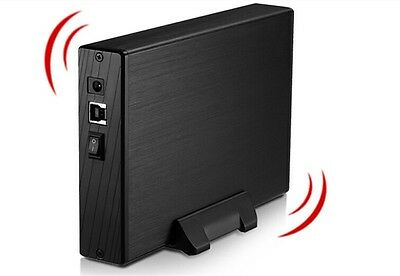 """3.5""""Inch SATA HDD Enclosure External USB3.0 HDD Cover Case for Hard Drive Disk"""