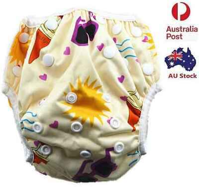 New Swim Nappy Baby Girl Toddlers Kids Girl's Swim Pants Swim Nappies (S70)