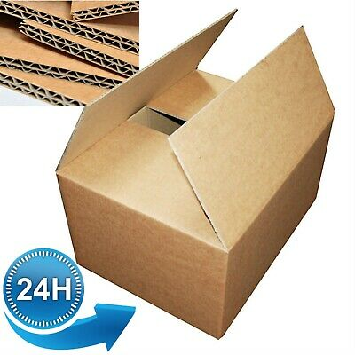 10 LARGE MOVING BOXES Double Wall Cardboard Box NEW Removal Packing Shipping