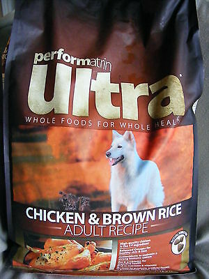 Performatrin Ultra - Chicken & Brown Rice - Adult Recipe - 14.3 Lb, 6.5 Kg