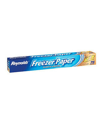 Reynolds Freezer Paper - 75 Square ft Roll - BARGAIN