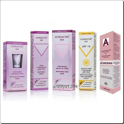 Achromin Anti Dark Age Spots Cream / Achroactive Mask / Serum / Uv Filters