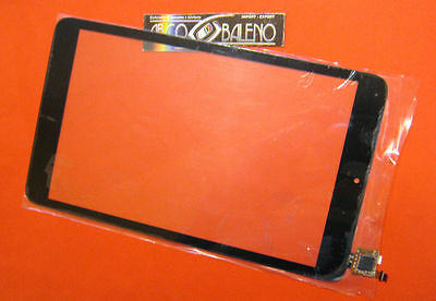 """Gls Vetro+Touch Screen Alcatel One Touch Pixi 3 8"""" Per Display Nero Tablet Ot"""