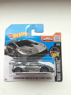 hotwheels lamborghini huracan lp620 2 super trofeo 2017 short carded. Black Bedroom Furniture Sets. Home Design Ideas