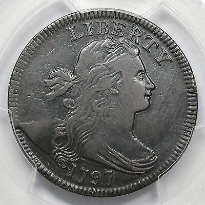 1797 S-139 PCGS VF 30 LDS Rev of 97 Draped Bust Large Cent Coin 1c
