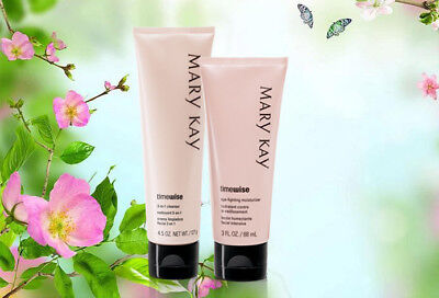 Mary Kay TimeWise Age-Fighting Moisturiser & 3-In-1 Cleanser 2020