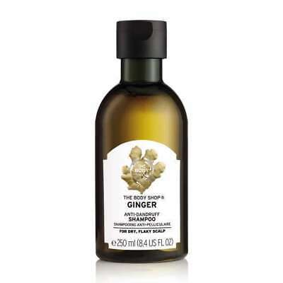 Body Shop GINGER ANTI DANDRUFF SHAMPOO - Cleansing&Refreshing - Buy 3 & Save BIG
