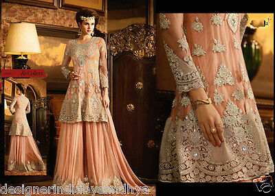 Anarkali Salwar Kameez Indian Bollywood Pakistani Designer Wedding lehenga dress