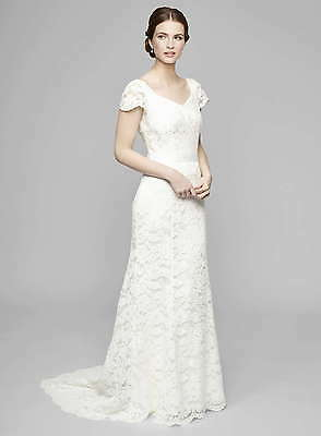 BNWT SIZES 8-22 BHS Ivory Sophie Lace Wedding Dresses, RRP £150