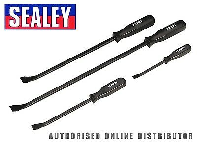 Sealey AK206 4 Piece Wrecking/Pry/Crow Bar/Puller/Lever Set 200,300,450 & 600mm