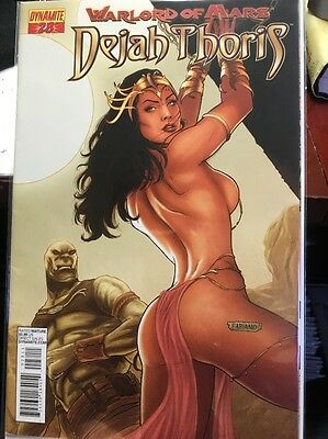 Warlord Of Mars Dejah Thoris #28 A Cover Dynamite 2013 VF