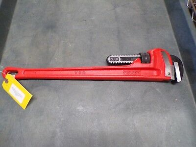 NEW Ridgid 24 3 in. Capacity 24 in. Straight Pipe Wrench 31030 (T)
