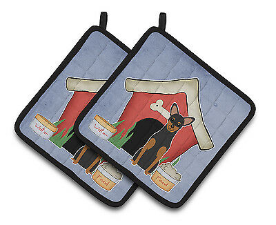 Dog House Collection Manchester Terrier Pair of Pot Holders