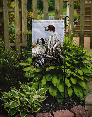 English Pointer by Michael Herring Flag Garden Size
