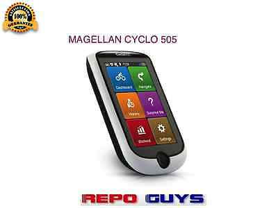 Magellan Cyclo 505 Gps Bicycle Navigation GPS WIFI Bike Bluetooth - Unit Only