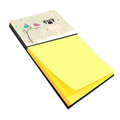 Christmas Presents between Friends Mastiff White Sticky Note Holder