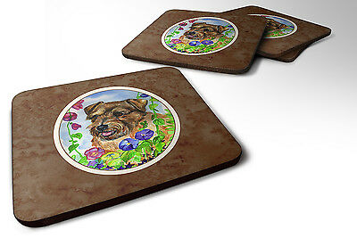 Carolines Treasures  7035FC Set of 4 Norfolk Terrier Foam Coasters