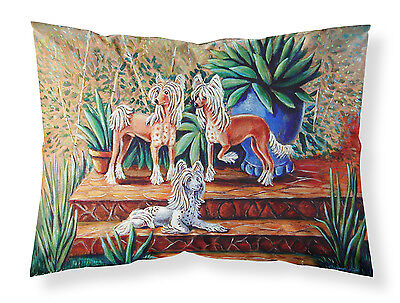 Chinese Crested  Moisture wicking Fabric standard pillowcase