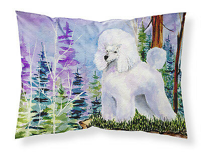 Carolines Treasures  SS8639PILLOWCASE Poodle Moisture wicking Fabric standard pi