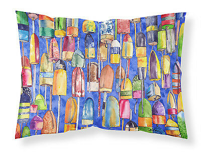 Carolines Treasures  8723PILLOWCASE Lobster Bouys  Moisture wicking Fabric stand