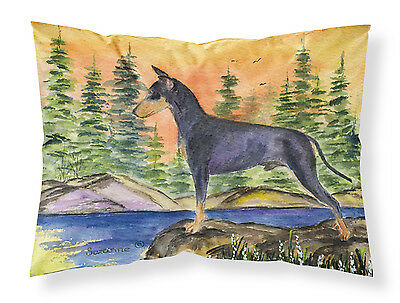 Manchester Terrier Moisture wicking Fabric standard pillowcase