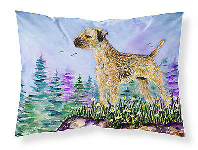Carolines Treasures  SS8664PILLOWCASE Border Terrier Moisture wicking Fabric sta