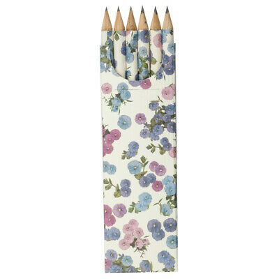 NEW Tassotti Wind Petals Pencil Set of 6