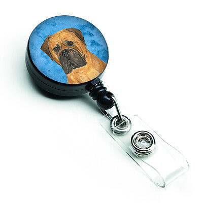 Bullmastiff  Retractable Badge Reel or ID Holder with Clip SS4793