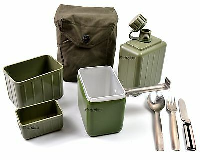 Original Yugoslavian mess kit. Army military mess kit canteen cutlery