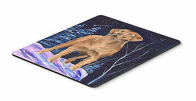 Starry Night Chesapeake Bay Retriever Mouse Pad / Hot Pad / Trivet