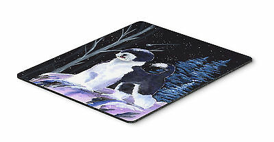 Starry Night Portuguese Water Dog Mouse Pad / Hot Pad / Trivet