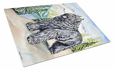 Carolines Treasures  7049LCB Bouvier des Flandres Glass Cutting Board Large