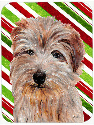 Norfolk Terrier Candy Cane Christmas Mouse Pad, Hot Pad or Trivet