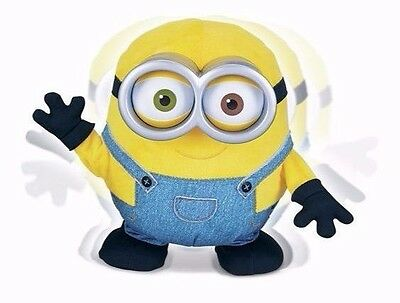 Official Despicable Me Interactive Large Minions Movie Talking Sing N Dance Bob