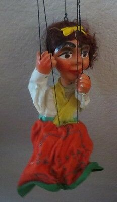 Antique Gypsy Marionette Puppet Doll