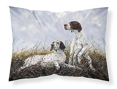 English Pointer by Michael Herring Fabric Standard Pillowcase