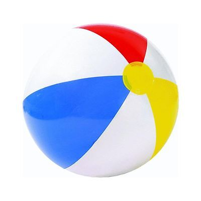 "Inflatable Blowup Panel Beach Ball 20"" Holiday Party Swimming Garden Toy"