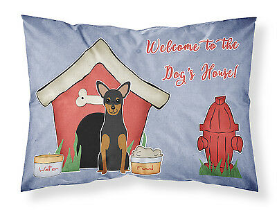 Dog House Collection Manchester Terrier Fabric Standard Pillowcase