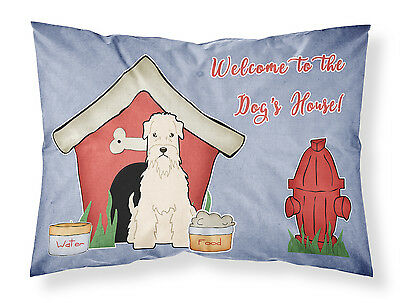 Dog House Collection Soft Coated Wheaten Terrier Fabric Standard Pillowcase