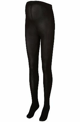 BNWT 200 Denier Maternity Tights Black 2 Pack