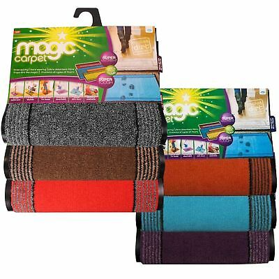 JML Magic Carpet Small Door Mat 40cm x 70cm Absorbent Bath Bathroom Kitchen