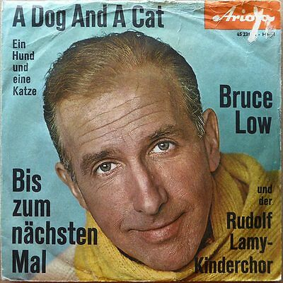 Bruce Low - A Dog And A Cat - Deutschland 1961 - VG+ to VG+(+)