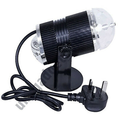 Disco Light Music Active LED Laser RGB Stage Effect Lighting Club DJ Party Bar