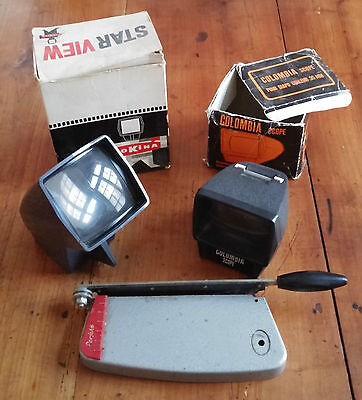 Lot Starview + Colombia Scope Visionneuses + Perfekt   /029