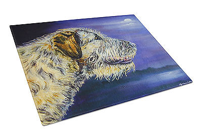 Carolines Treasures  7352LCB Irish Wolfhound Looking Glass Cutting Board Large